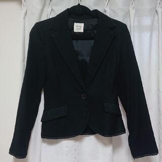 プライベートレーベル(PRIVATE LABEL)の☆ともとも様専用☆private label 黒のジャケット (テーラードジャケット)