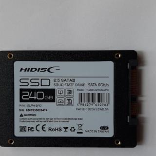 内蔵用SSD2.5inch SATA SSD 240GB ビーバー様専用