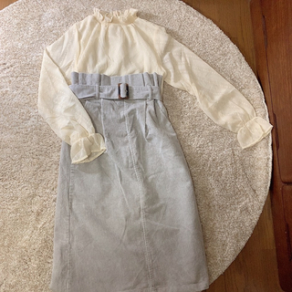 GRL - コーデュロイ スカート