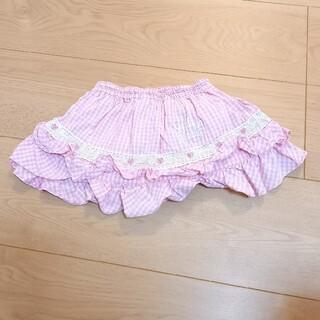 シャーリーテンプル(Shirley Temple)のShirley Temple Baby インナーパンツ付きスカート 80cm(スカート)