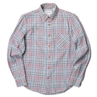 ADAM KIMMEL x Carhartt フランネルチェックBDシャツ