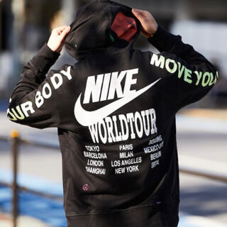 NIKE - NIKE AS M NSW PO FT HOODIE WTOUR