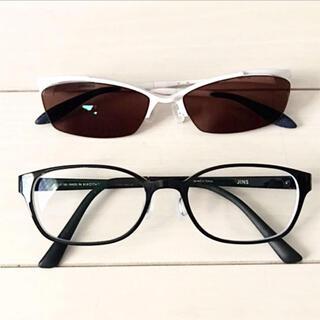 ジンズ(JINS)のメガネ2本セット(JINS、眼鏡市場)(サングラス/メガネ)