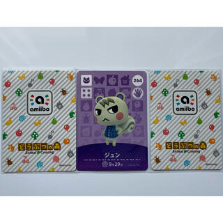 Nintendo Switch - どうぶつの森 amiiboカード ジュン 新品