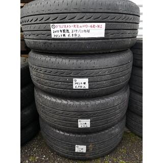 ブリヂストン(BRIDGESTONE)の中古ブリジストンREGNO GR-XI 215/60R16サマータイヤ4本セット(タイヤ)
