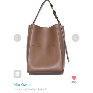 Mila Owen - ミラオーウェン リングショルダーバケットバッグ