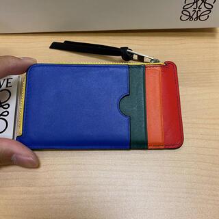 LOEWE - 美品 ロエベ マルチカラー カードケース バッグ 財布