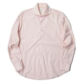 フィナモレ(FINAMORE)のFinamore ホリゾンタルカラーチェックシャツ ワイシャツ メンズ(シャツ)