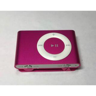 Apple - 【ジャンク】iPod shuffle 第二世代 1GB ピンク・ケーブル