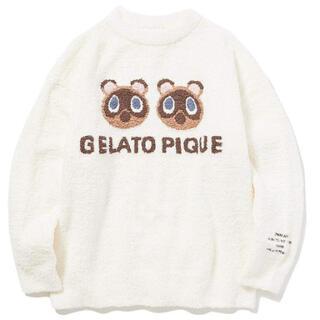 gelato pique - 大人用 あつもり ジェラートピケ つぶまめジャガードプルオーバー