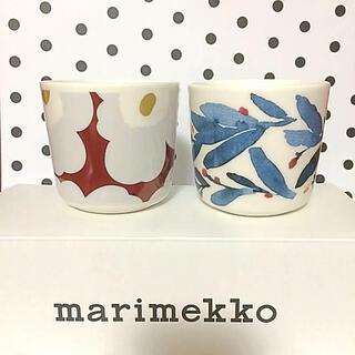 marimekko - ♡マリメッコ  ウニッコ ワイン ヒュフマ マグカップ 食器