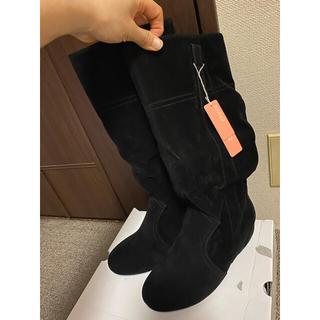ヌォーボ(Nuovo)のなおみん様専用です。新品未使用⭐︎NUOVO ブラックブーツ Sサイズ(ブーツ)
