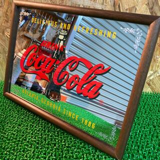 コカコーラ(コカ・コーラ)のコカコーラ 鏡(ドレッサー/鏡台)
