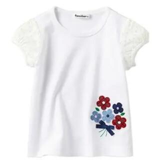 familiar - familiar          Tシャツ       size  80cm