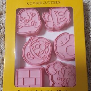 マリオ クッキー型 6個セット