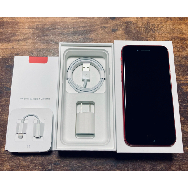 iPhone(アイフォーン)のApple iPhone8 PRODUCT RED SIMフリー スマホ/家電/カメラのスマートフォン/携帯電話(スマートフォン本体)の商品写真