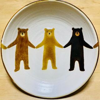 ヤッチとムーン ぼくたちクマ5寸皿(カラー)