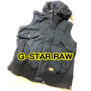 ジースター(G-STAR RAW)のG-STAR RAW ベスト ブラック(ベスト)