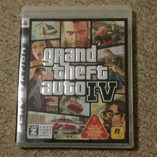 プレイステーション3(PlayStation3)のグランド・セフト・オートIV PS3(家庭用ゲームソフト)