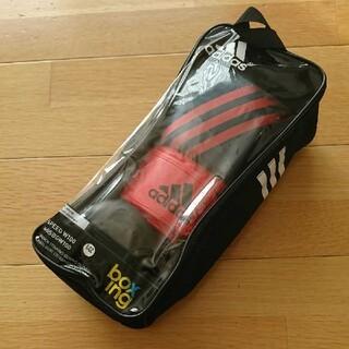 アディダス(adidas)の新品 adidas ボクシング グローブ 6oz SPEED W100 レッド(ボクシング)