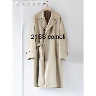 COMOLI - comoli コモリ WASHED TIELOCKEN COAT タイロッケン
