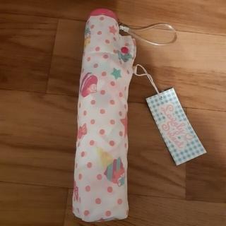 新品女の子用折り畳み傘(傘)