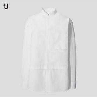 UNIQLO - 期間限定出品 ユニクロ ジルサンダー ノーカラー シャツ 新品未使用 Sサイズ
