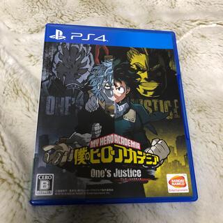 プレイステーション4(PlayStation4)の僕のヒーローアカデミア One's Justice PS4(家庭用ゲームソフト)