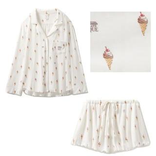 gelato pique - ジェラートピケ ソフトクリーム柄パジャマ