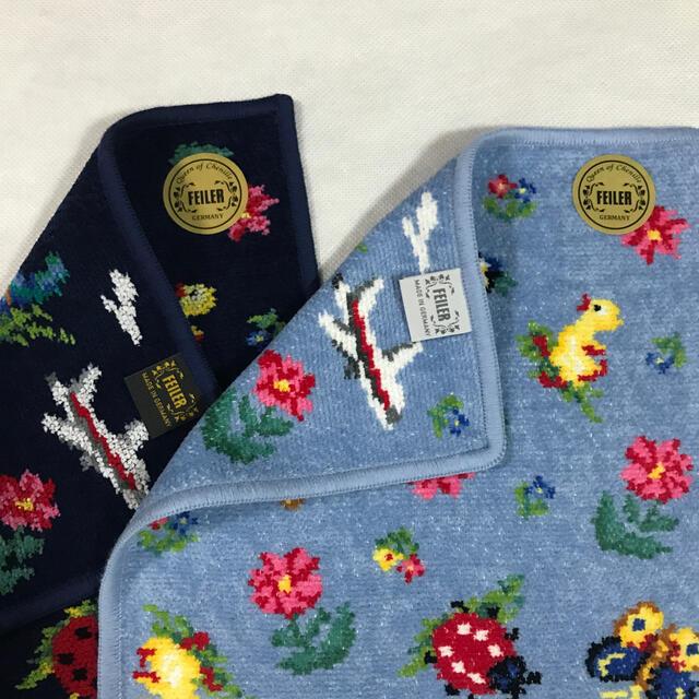 FEILER(フェイラー)のフェイラー ×JAL コラボタオルハンカチ セット レディースのファッション小物(ハンカチ)の商品写真