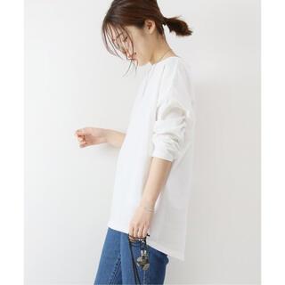 Spick and Span - 美品 Spick and Span トルファンコットンセットバックT Tシャツ