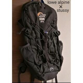 STUSSY - lowe alpine × stussy 30周年記念 コラボバッグ