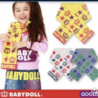 ベビードール(BABYDOLL)の【新品】BABYDOLL ベビードール キッズ ニット マフラー(マフラー/ストール)