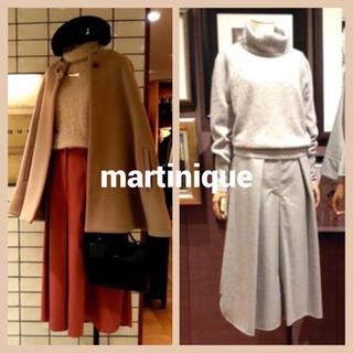 マルティニークルコント(martinique Le Conte)のmartinique  ラウンドヘムガウチョパンツ(カジュアルパンツ)
