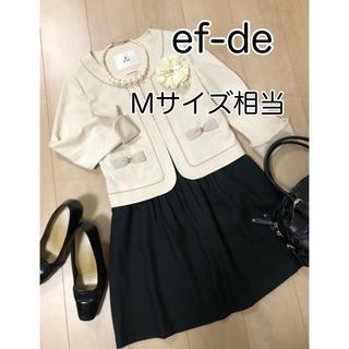 ef-de - 【M相当】ef-de セット ママスーツ セレモニー 卒業式 卒園式