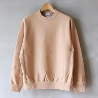 COMOLI - 品 BLURHMS SOFT & HARD SWEAT CREW NECK