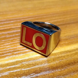 ジバンシィ(GIVENCHY)の最終価格 GIVENCHY LO シルバーリング(リング(指輪))