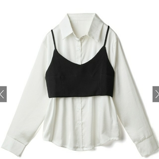 GRL - GRL♥ビスチェ付きロングシャツセット