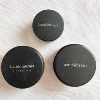 ベアミネラル(bareMinerals)の【まとめ売り】bareMinerals パウダー3つセット(ファンデーション)
