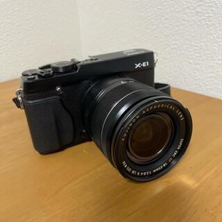富士フイルム - fujifilm x-e1 xf18-55 ミラーレス一眼 カメラ