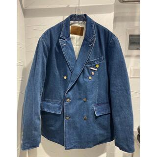 PEACEMINUSONE - Peaceminusone デニムブルー  スーツジャケット