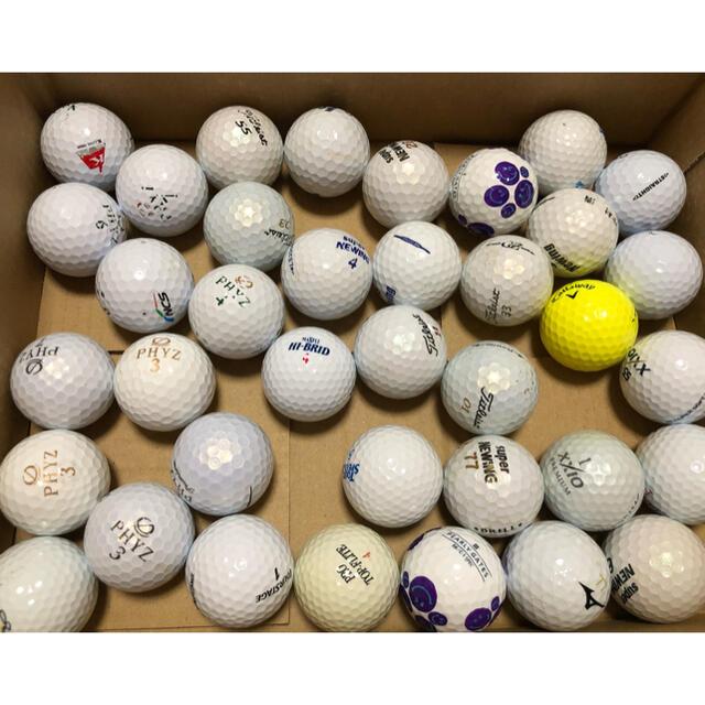 Titleist(タイトリスト)のゴルフボール ロストボール  37個   チケットのスポーツ(ゴルフ)の商品写真