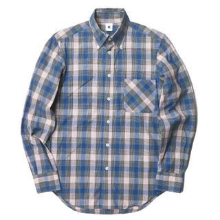 アダムキメル(Adam Kimmel)のADAM KIMMEL コットンマルチパターンチェックBDシャツ 長袖シャツ(シャツ)