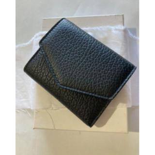 Maison Martin Margiela - Maison Margiela メゾンマルジェラ 3つ折り財布 ブラック レザー