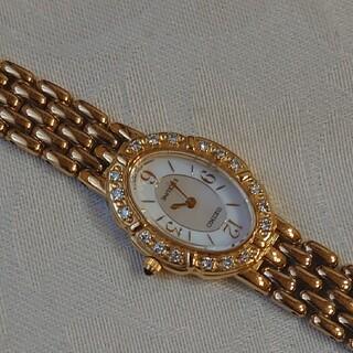SEIKO - セイコーエクセリーヌダイヤモンド取巻き時計