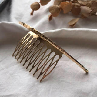 SENSE OF PLACE by URBAN RESEARCH - SALE!hair comb-gold-