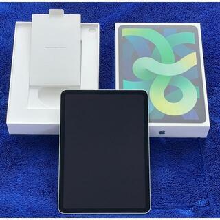 Apple - iPad Air4 セルラー SIMフリー 256GB グリーン 新同美品