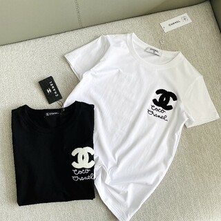 CHANEL - CHANEL半袖Tシャツ  白黒2点セット