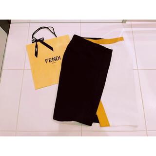 FENDI - FENDI フェンディ 配色スカート 大きいサイズ