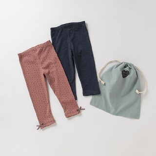 petit main - 新品未開封★プティマイン 女の子レギンスパンツセット(Size 80)
